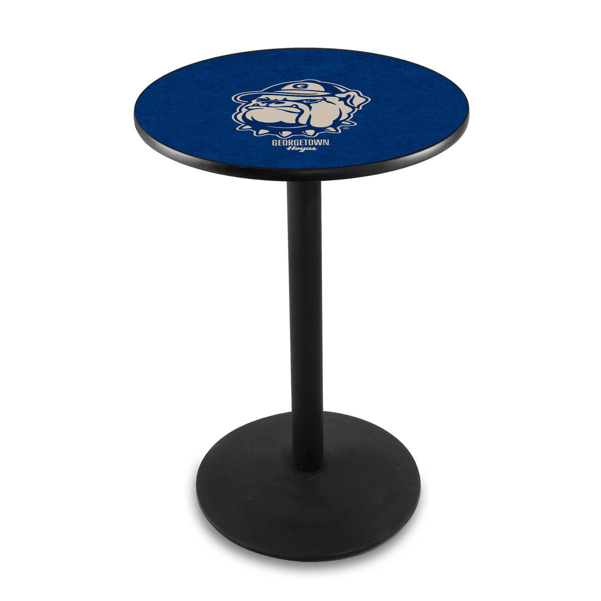 Check out the Georgetown University Logo Pub Bar Table Round Stand Product Photo