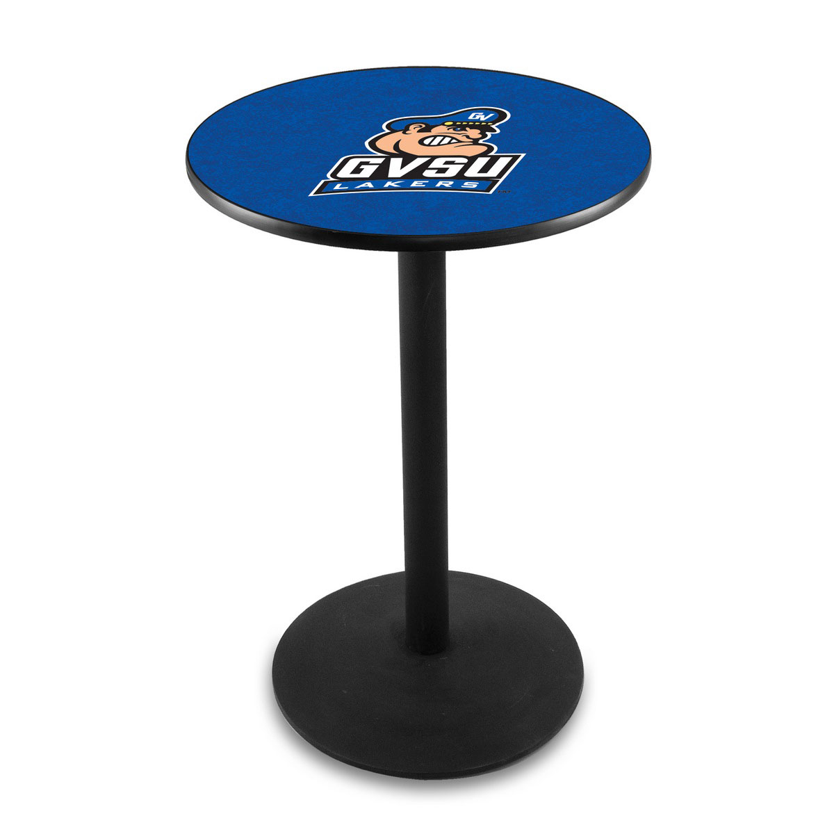 Magnificent Grand Valley State University Logo Pub Bar Table Round Stand Product Photo