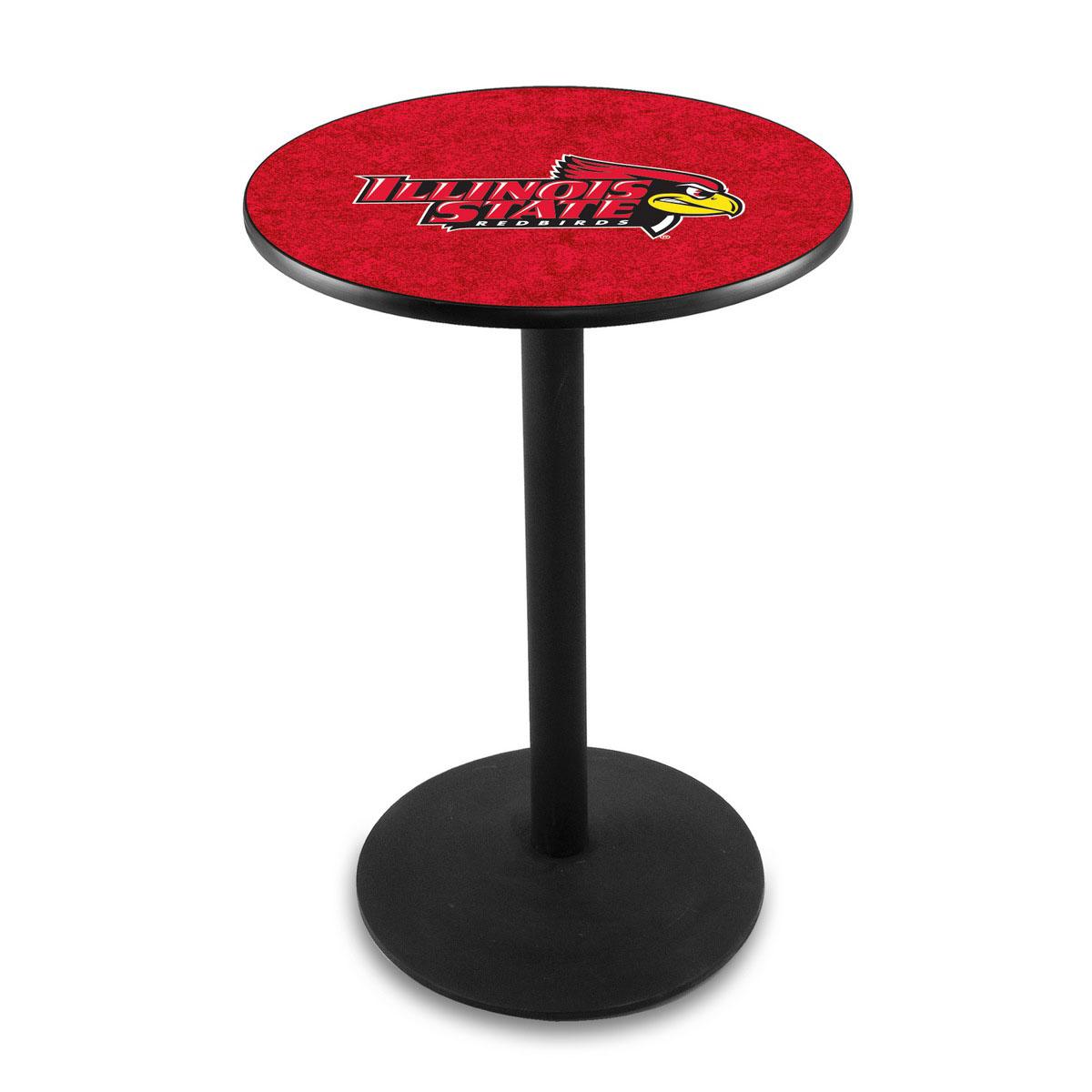 Splendid Illinois State University Logo Pub Bar Table Round Stand Product Photo