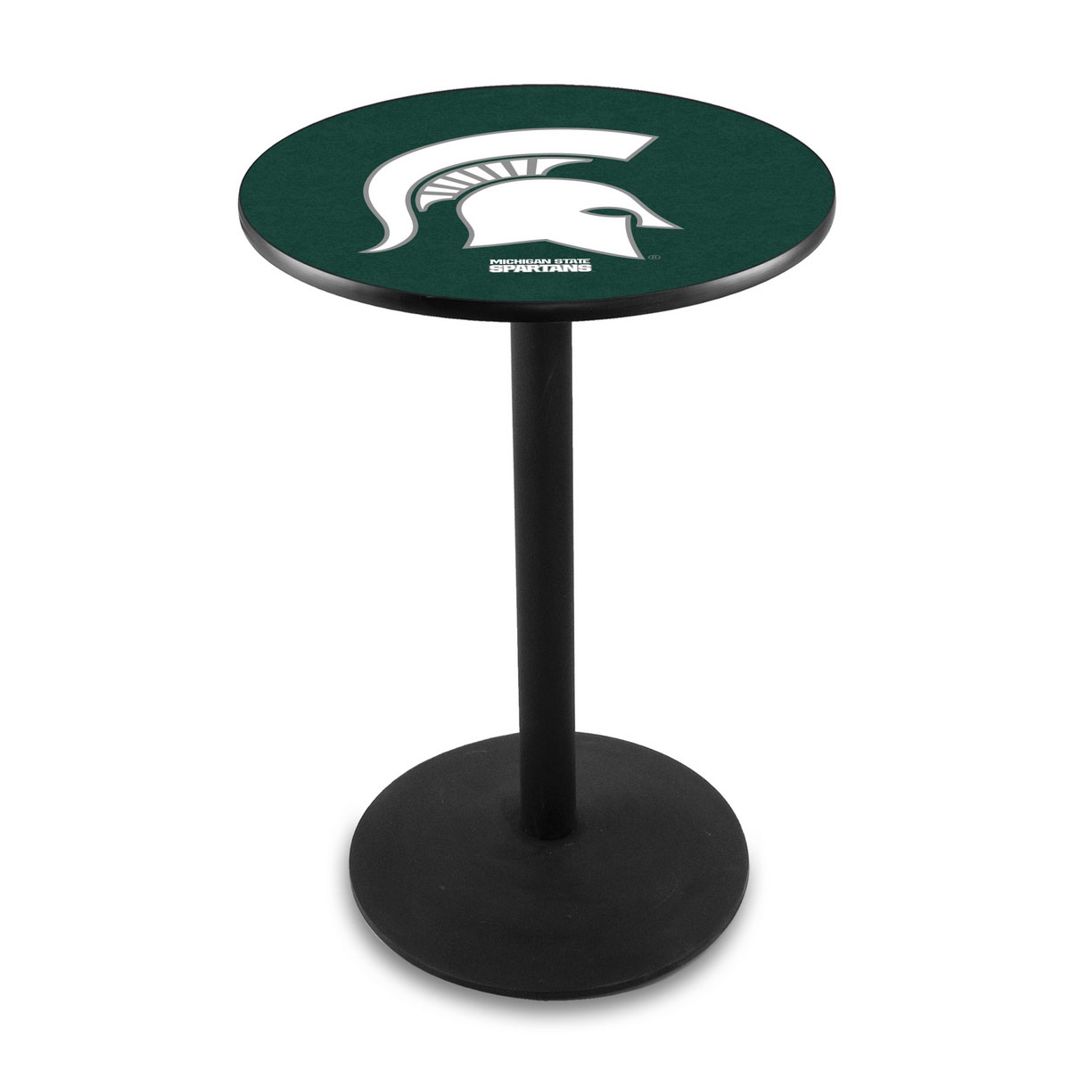 Info about Michigan State University Logo Pub Bar Table Round Stand Product Photo