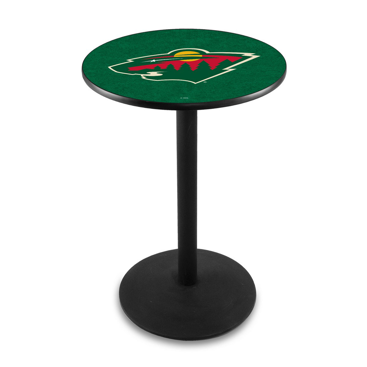 Unique Minnesota Wild Logo Pub Bar Table Round Stand Product Photo