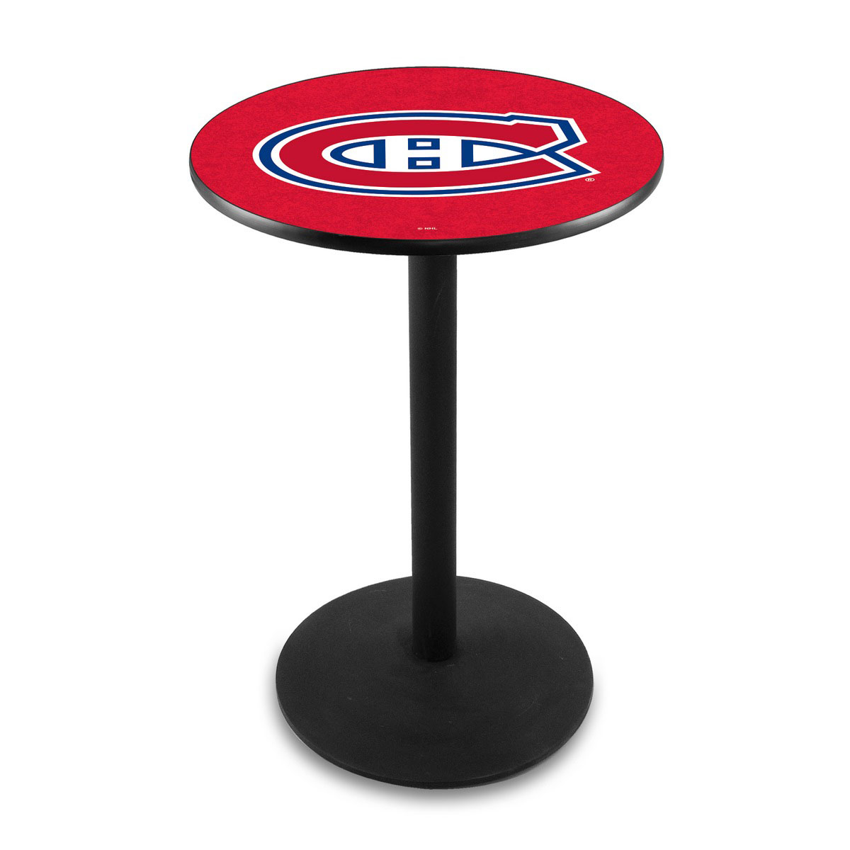 Choose Montreal Canadiens Logo Pub Bar Table Round Stand Product Photo