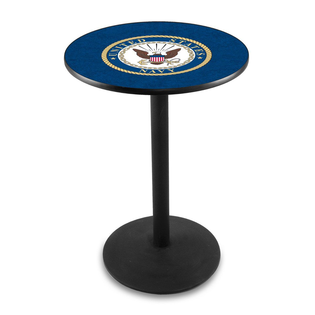 Lovable United-States-Navy-Logo-Pub-Bar-Table-Round-Stand Product Picture 865