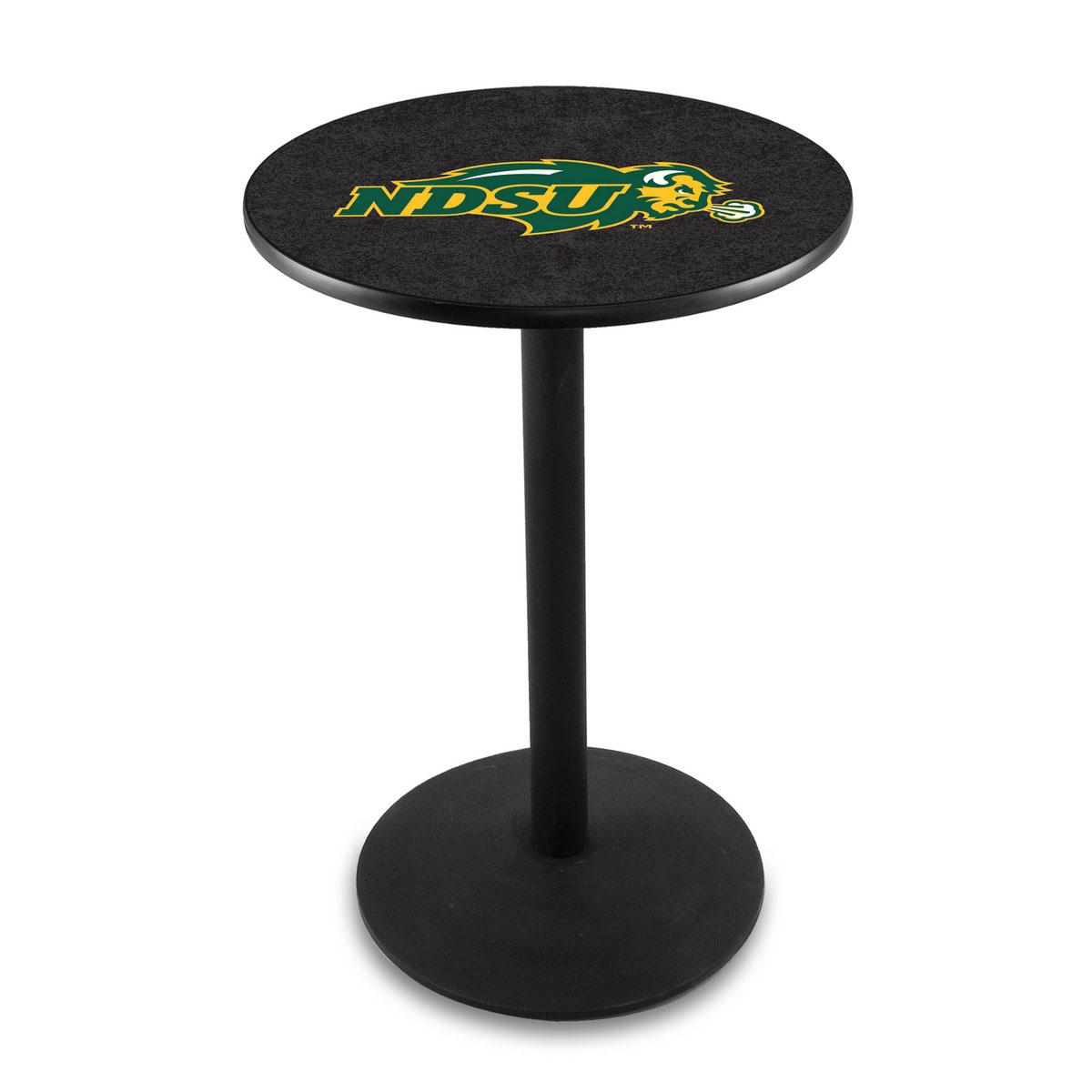 Select North Dakota State University Logo Pub Bar Table Round Stand Product Photo
