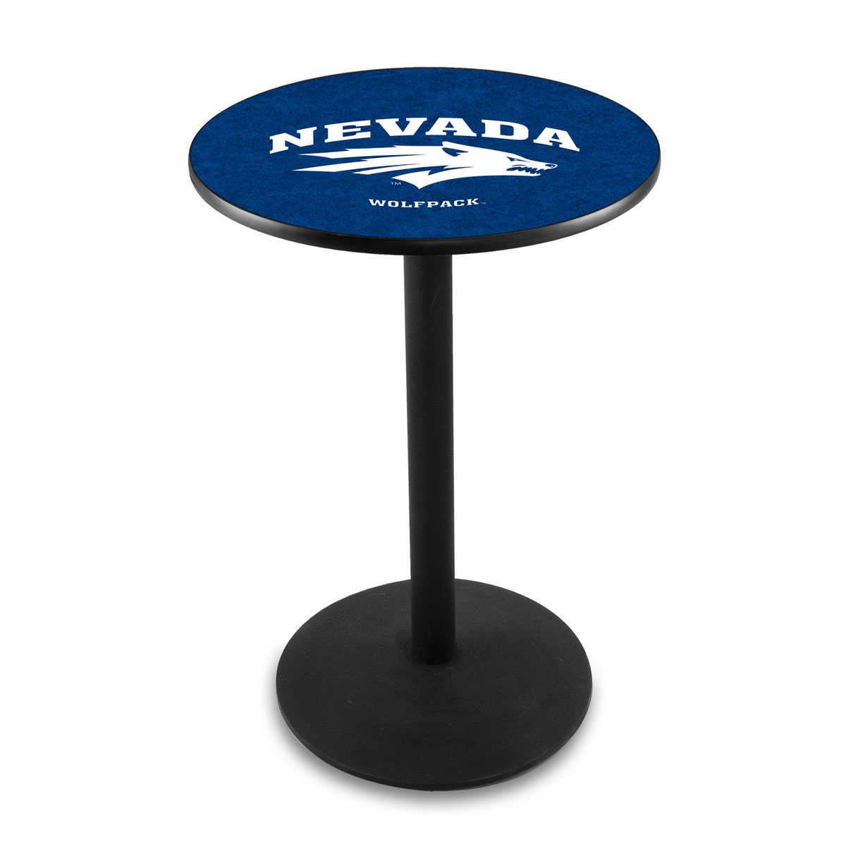 Best-selling University Nevada Logo Pub Bar Table Round Stand Product Photo