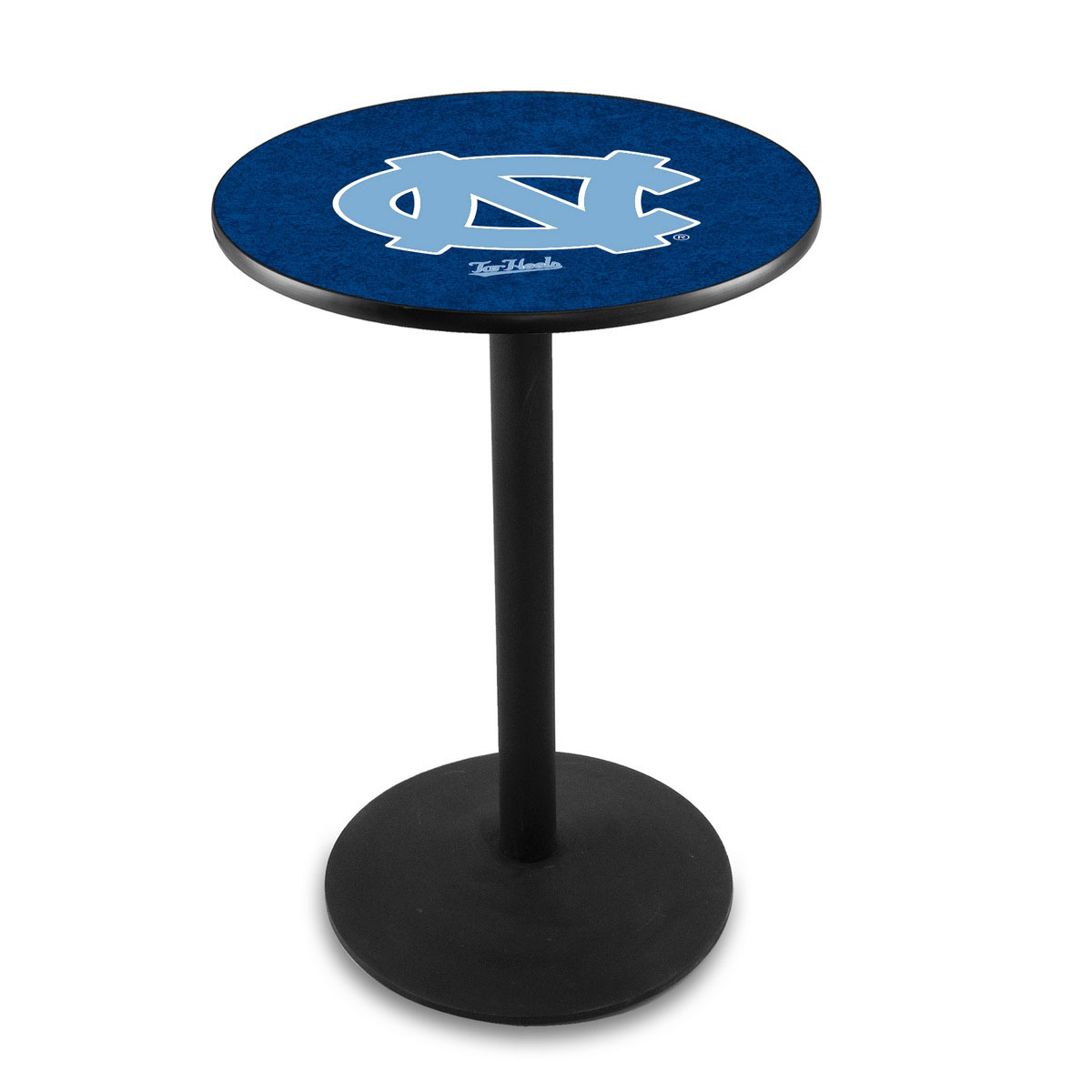 Optimal University North Carolina Logo Pub Bar Table Round Stand Product Photo