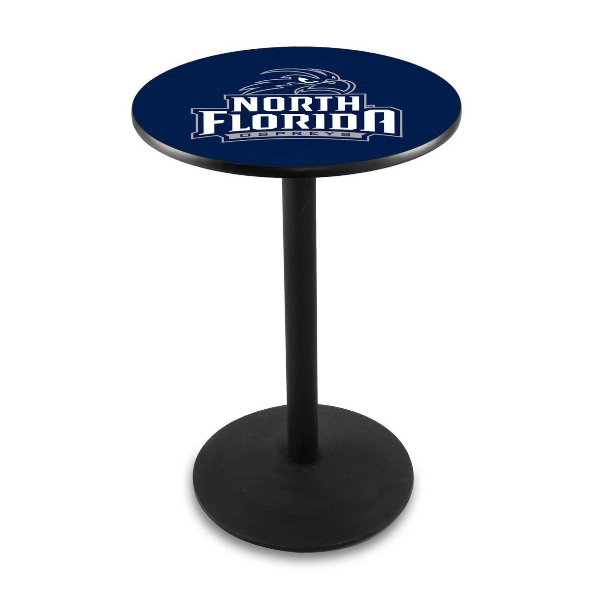 Magnificent University North Florida Logo Pub Bar Table Round Stand Product Photo