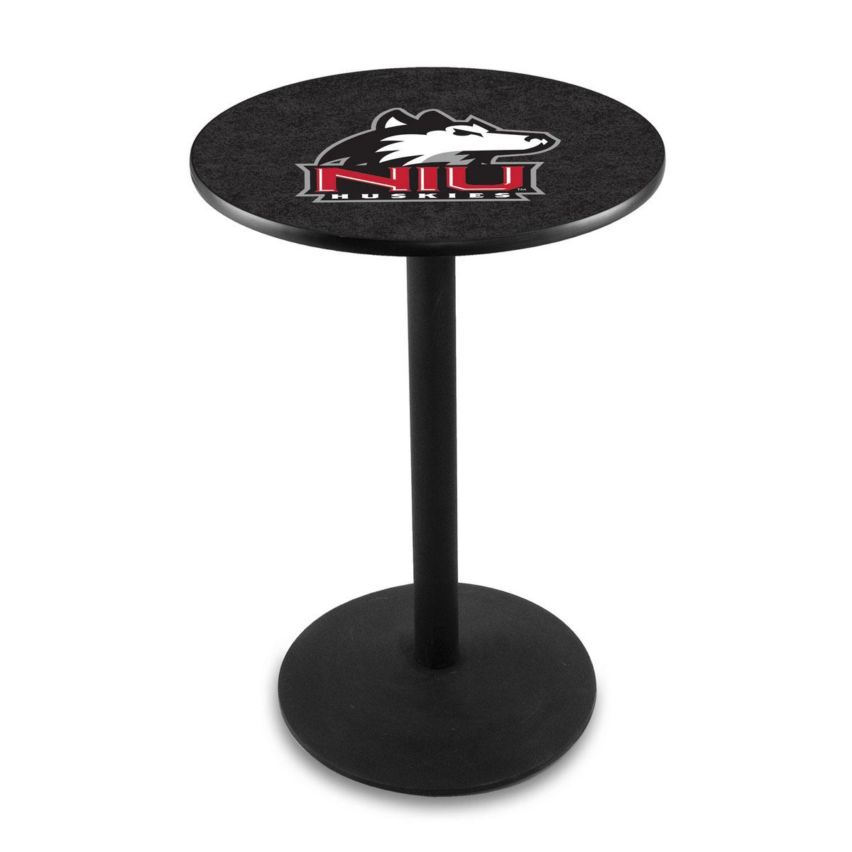 Splendid University Northern Illinois Logo Pub Bar Table Round Stand Product Photo