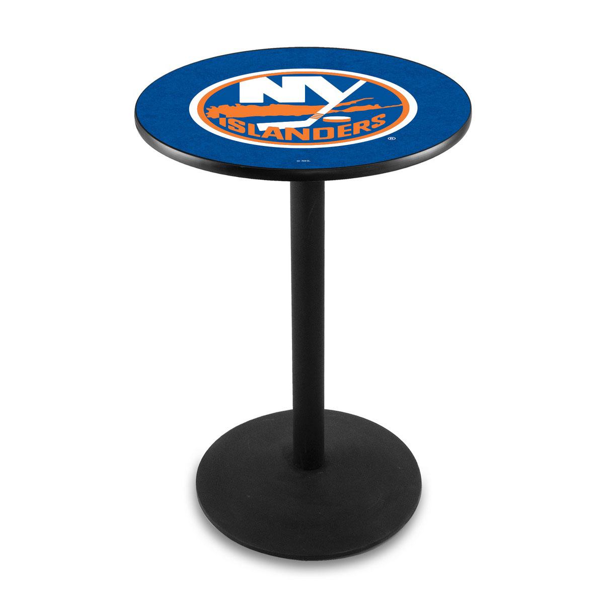 Amazing New York Islanders Logo Pub Bar Table Round Stand Product Photo