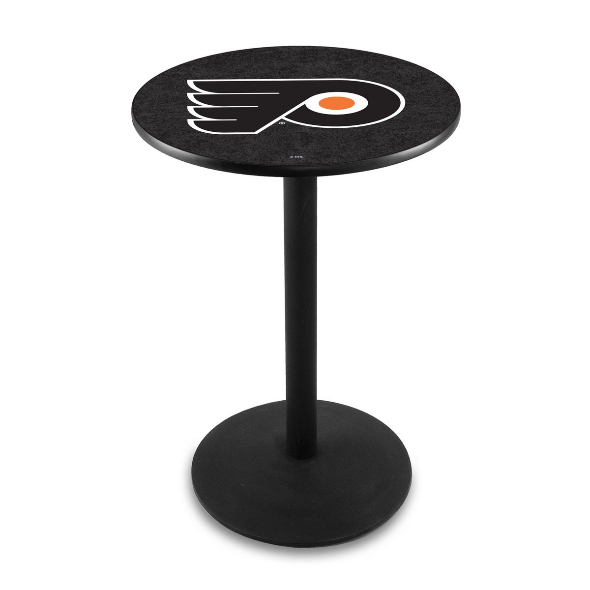 New Philadelphia Flyers Background Logo Pub Bar Table Round Stand Product Photo