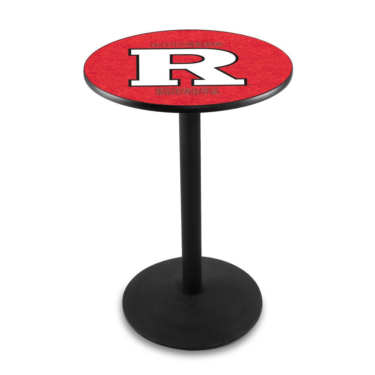 Precious Rutgers Logo Pub Bar Table Round Stand Product Photo