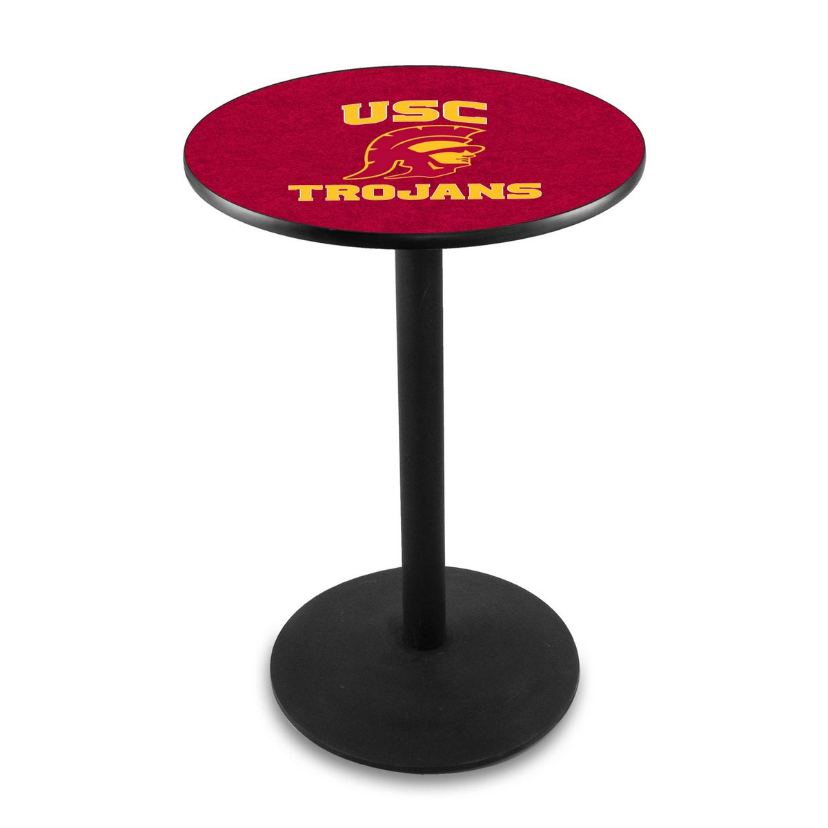 Pretty University Southern California Logo Pub Bar Table Round Stand Product Photo
