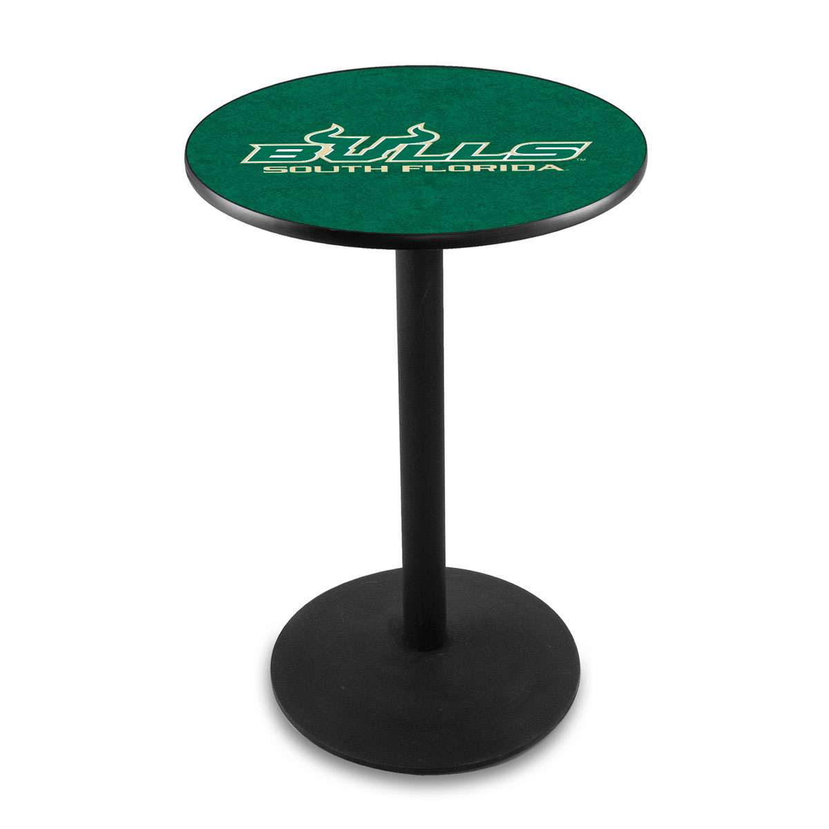 Wonderful University South Florida Logo Pub Bar Table Round Stand Product Photo