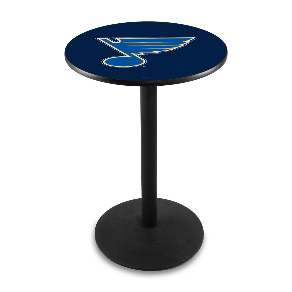 View St Louiss Logo Pub Bar Table Round Stand Product Photo