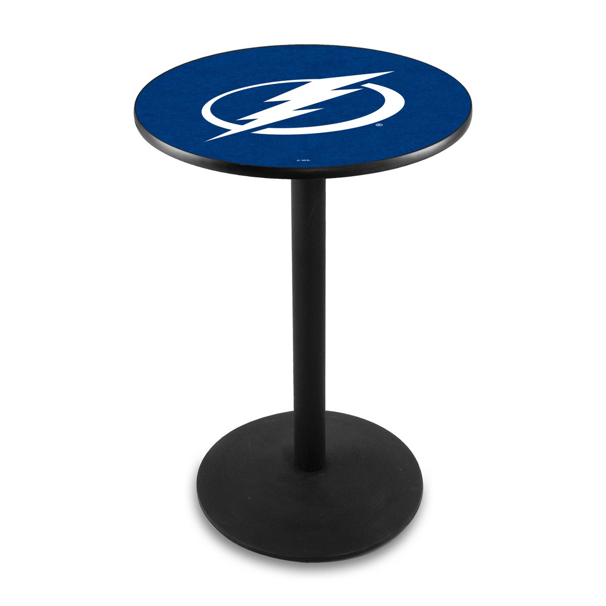One of a kind Tampa Bay Lightning Logo Pub Bar Table Round Stand Product Photo