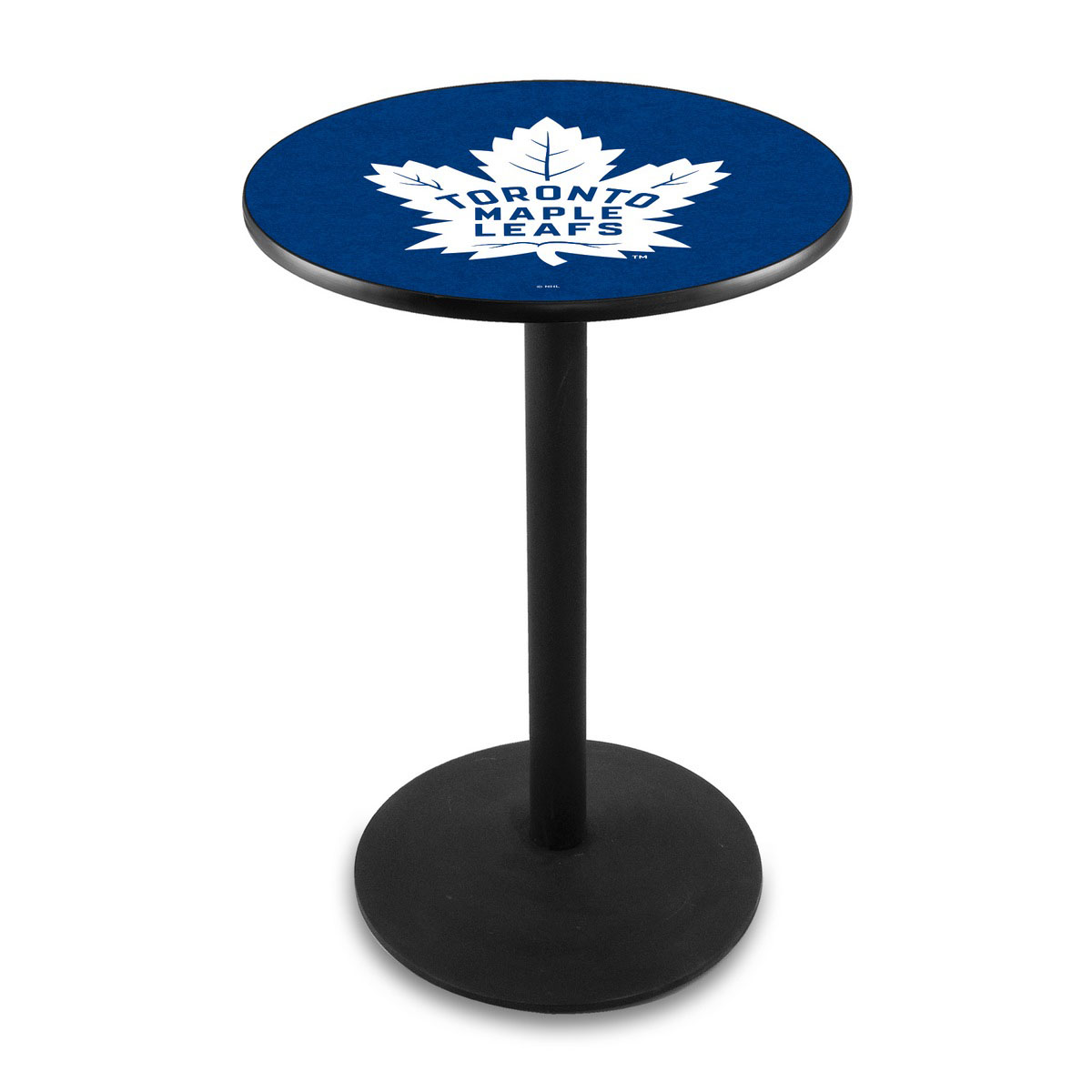 Wonderful Toronto Leafs Logo Pub Bar Table Round Stand Product Photo