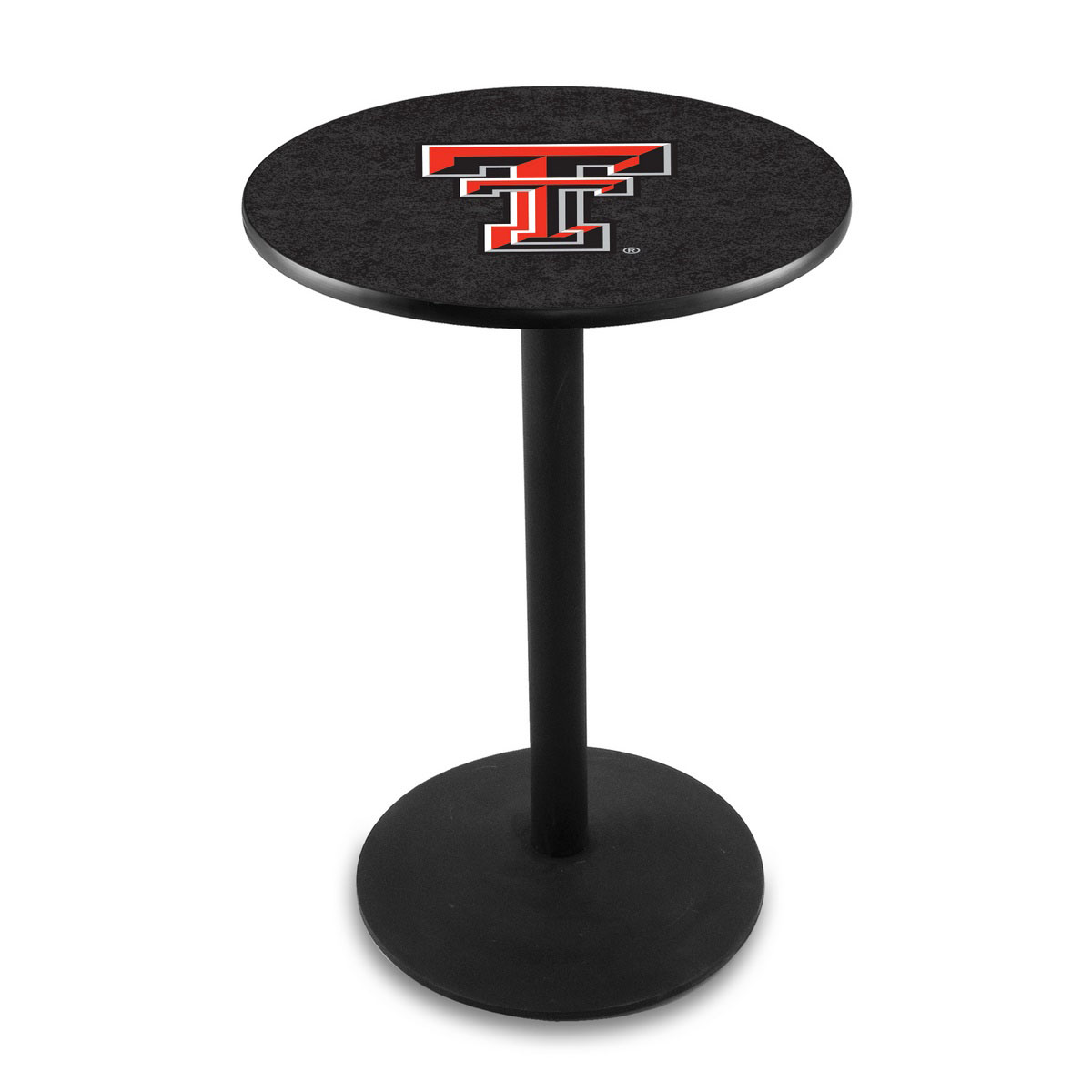 High-class Texas Tech University Logo Pub Bar Table Round Stand Product Photo