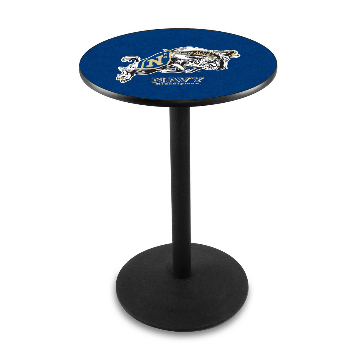 Ultimate Us Naval Academy Logo Pub Bar Table Round Stand Product Photo