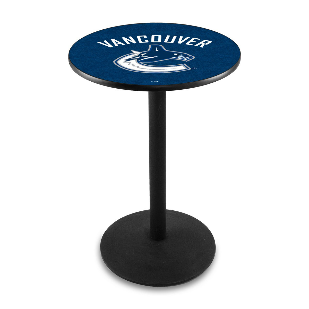 Stylish Vancouver Canucks Logo Pub Bar Table Round Stand Product Photo