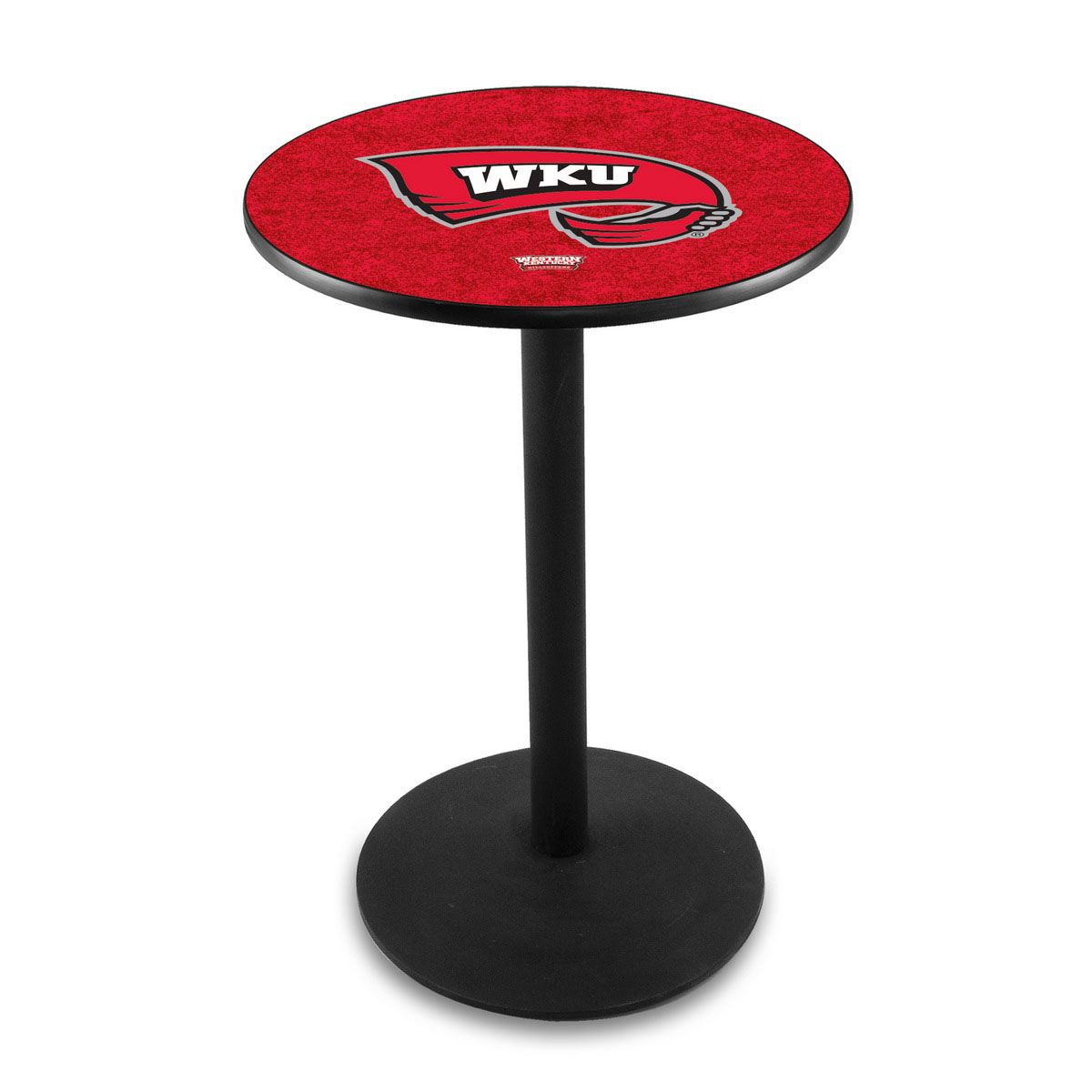 Special Western Kentucky University Logo Pub Bar Table Round Stand Product Photo