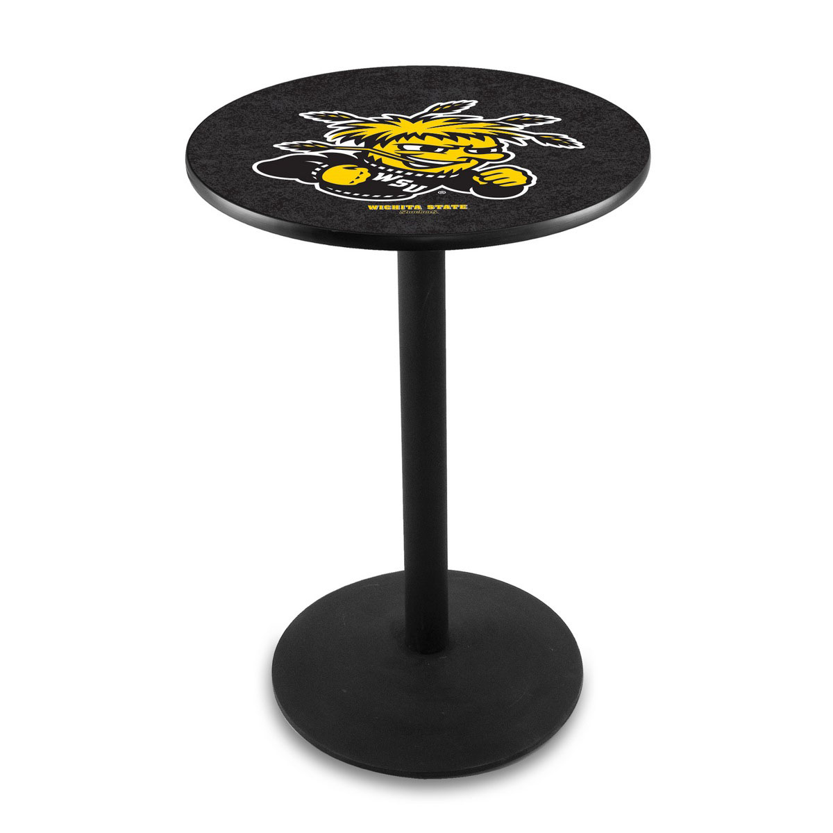 New Wichita State University Logo Pub Bar Table Round Stand 17 1837
