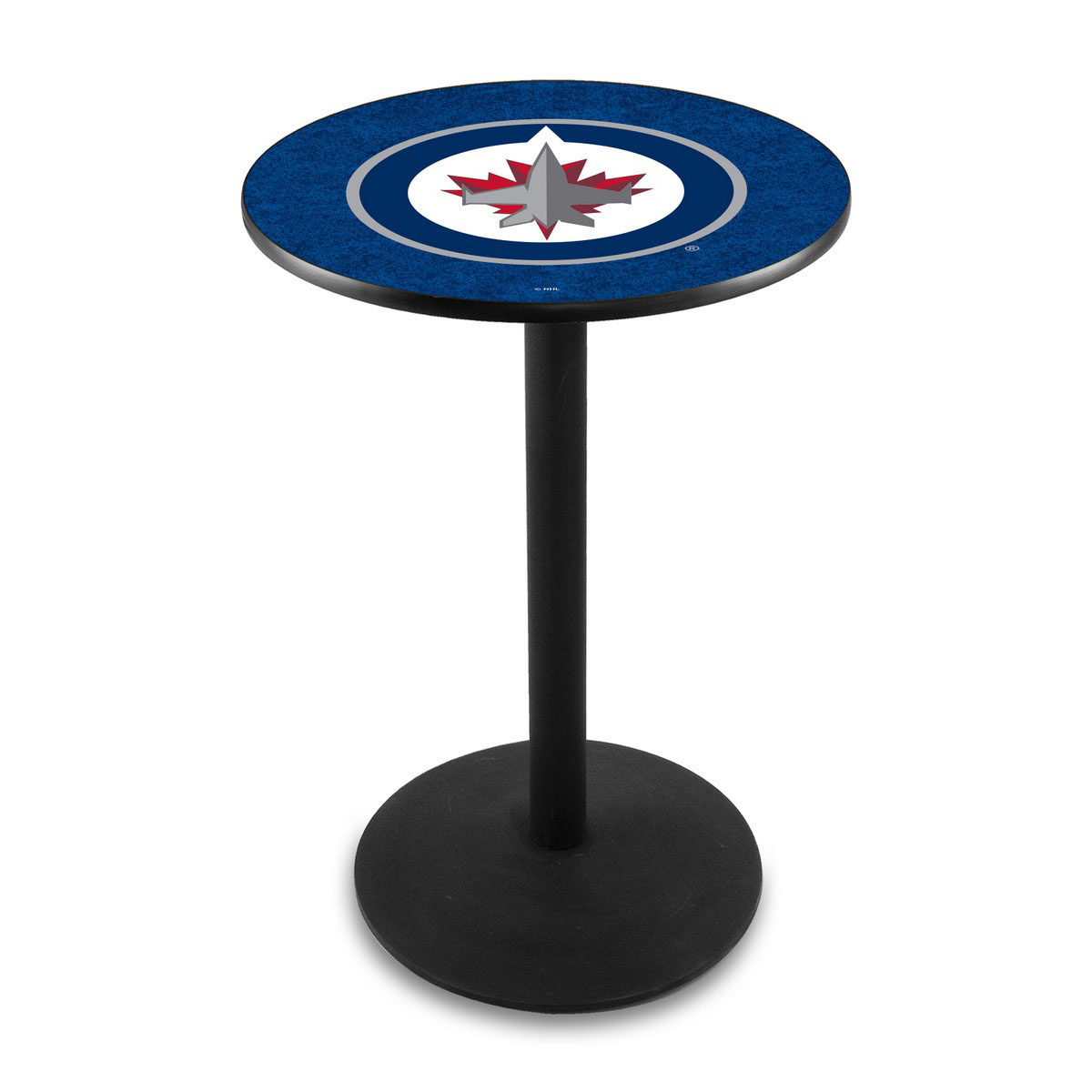 Money saving Winnipeg Jets Logo Pub Bar Table Round Stand Product Photo