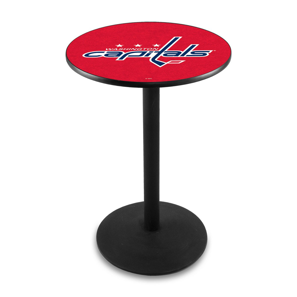 Lovable Washington Capitals Logo Pub Bar Table Round Stand Product Photo