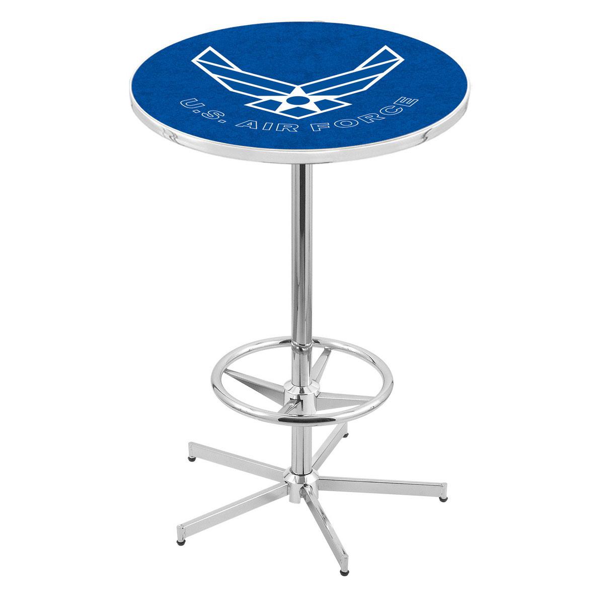 Purchase Chrome U Air Force Pub Table Product Photo