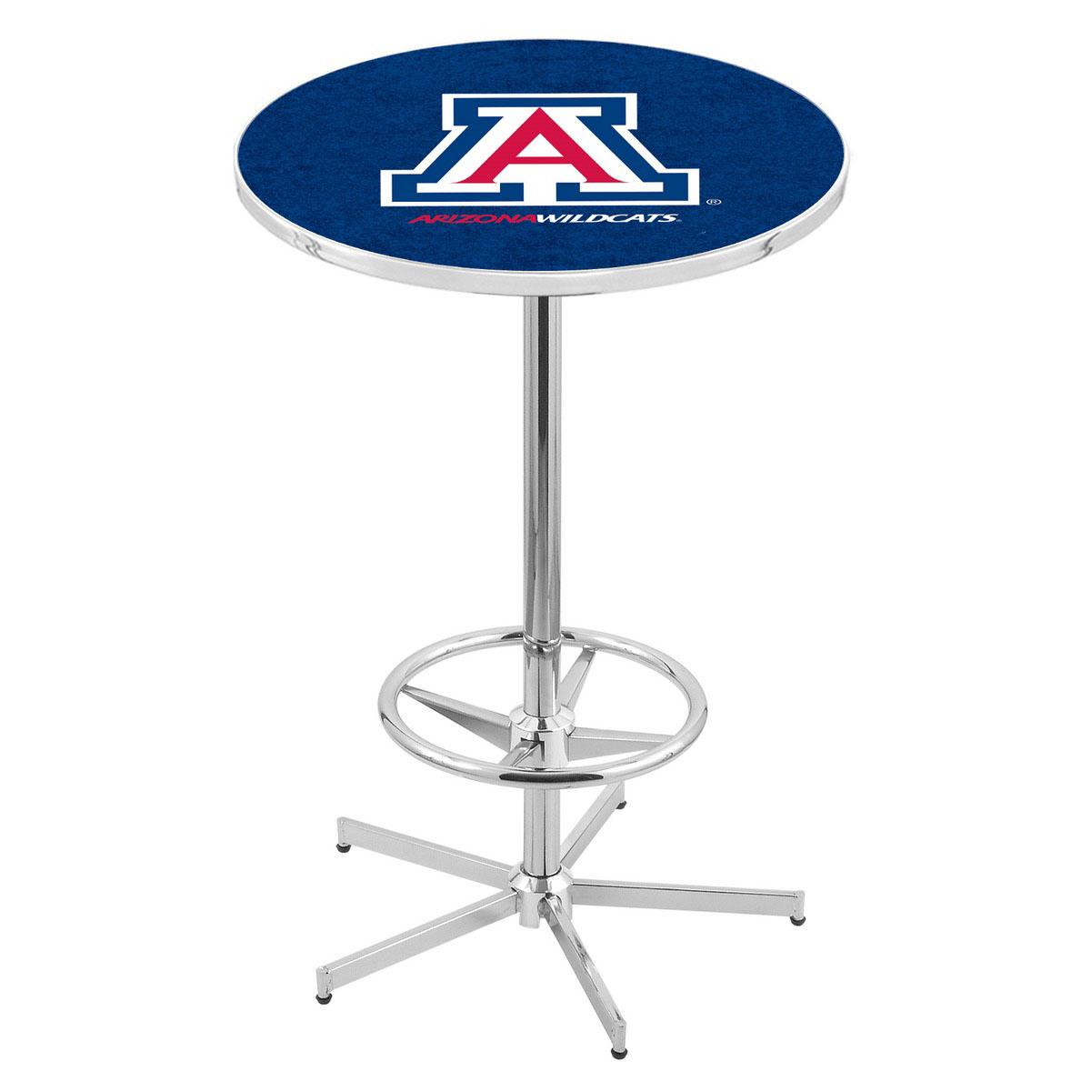 Search Chrome Arizona Pub Table Product Photo