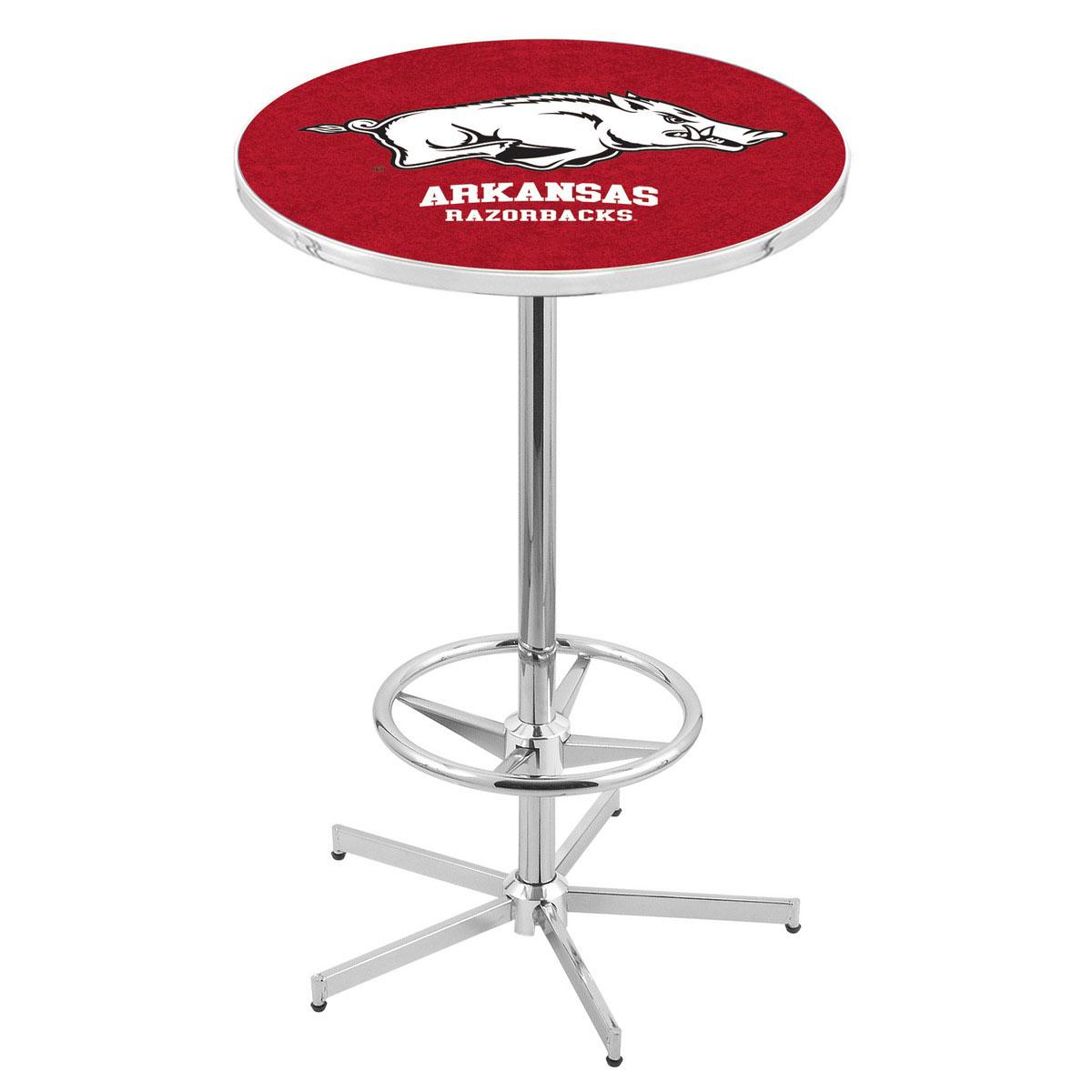 Order Chrome Arkansas Pub Table Product Photo