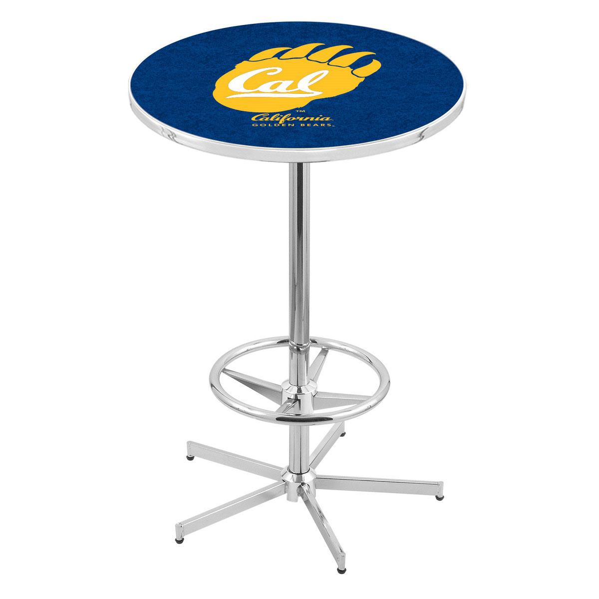 Information about Chrome Cal Pub Table Product Photo