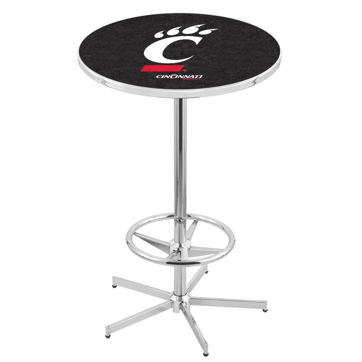 User friendly Chrome Cincinnati Pub Table Product Photo