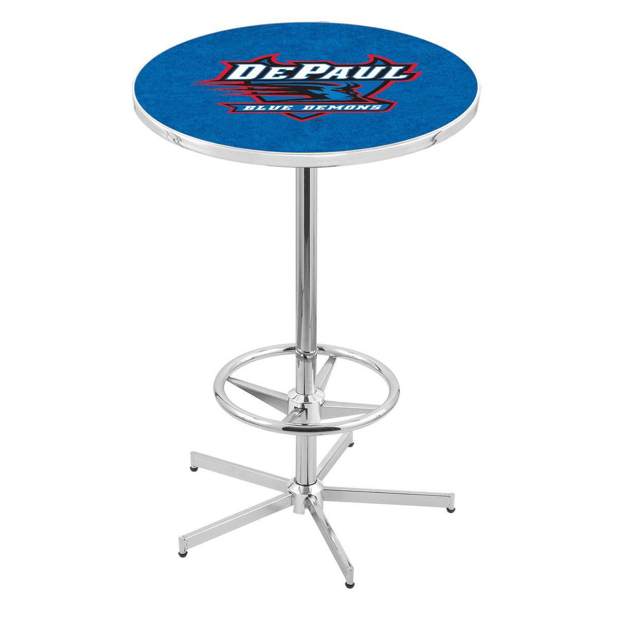 Design Chrome Depaul Pub Table Product Photo