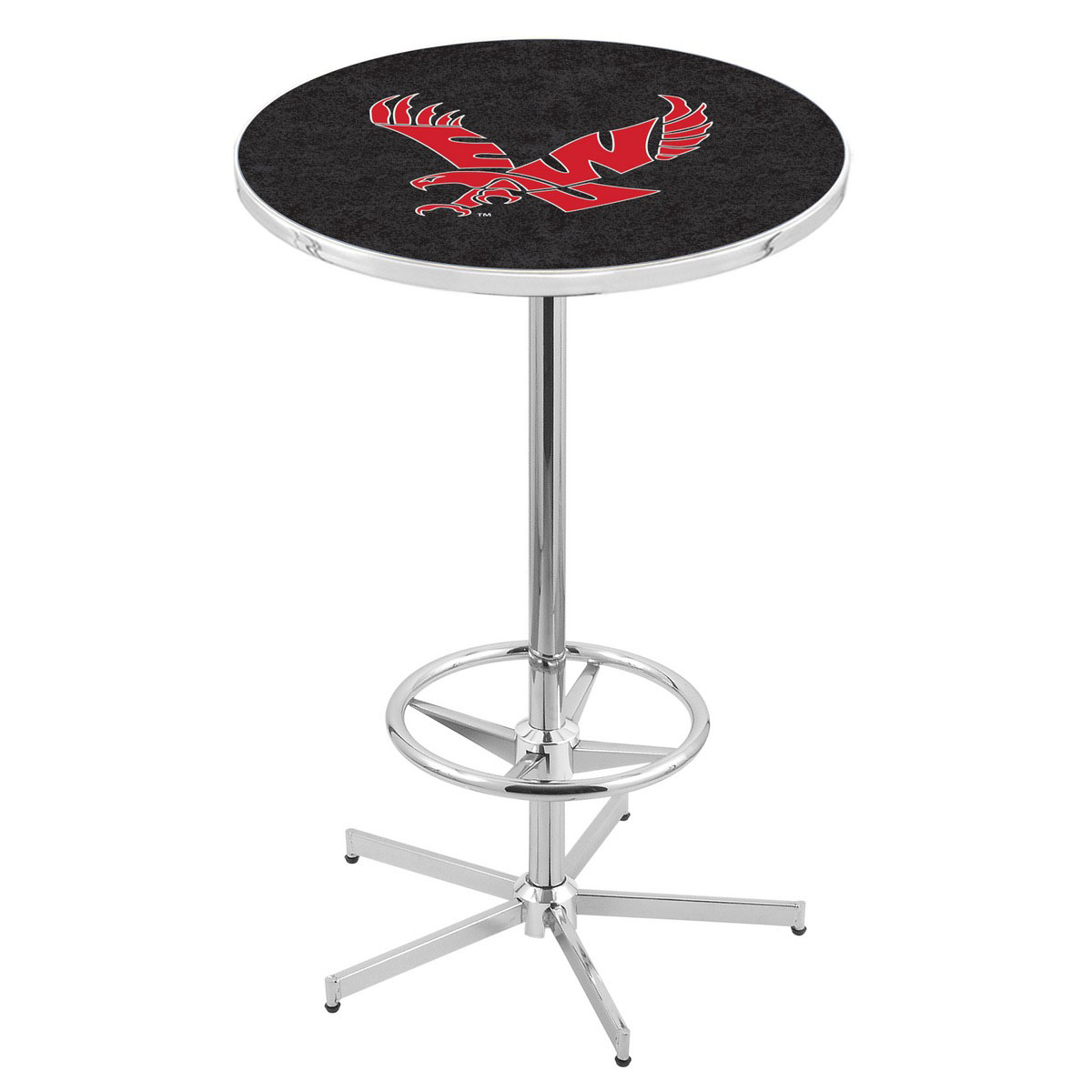Outstanding Chrome Eastern Washington Pub Table Product Photo