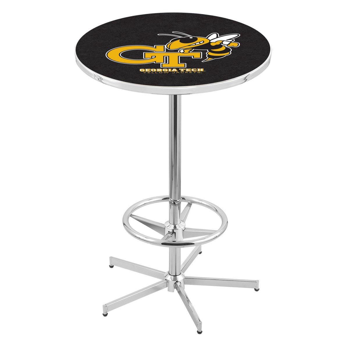 View Chrome Georgia Tech Pub Table Product Photo