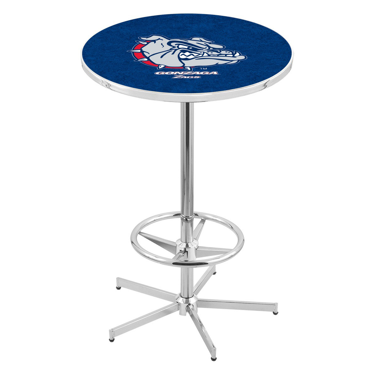 Check out the Chrome Gonzaga Pub Table Product Photo