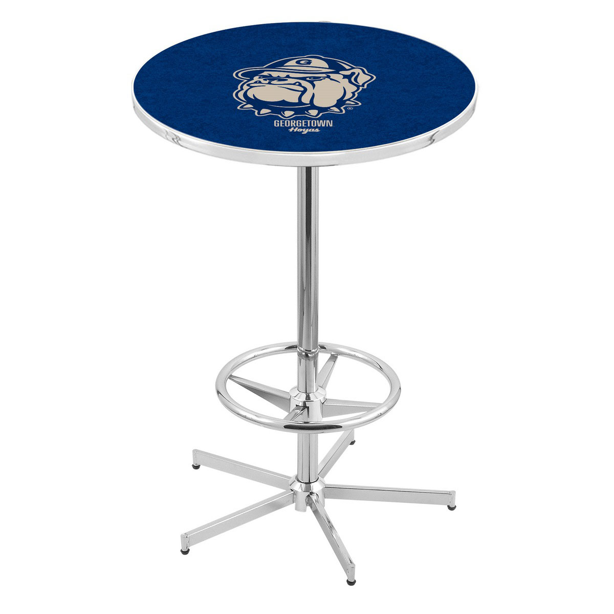 Best-selling Chrome Georgetown Pub Table Product Photo