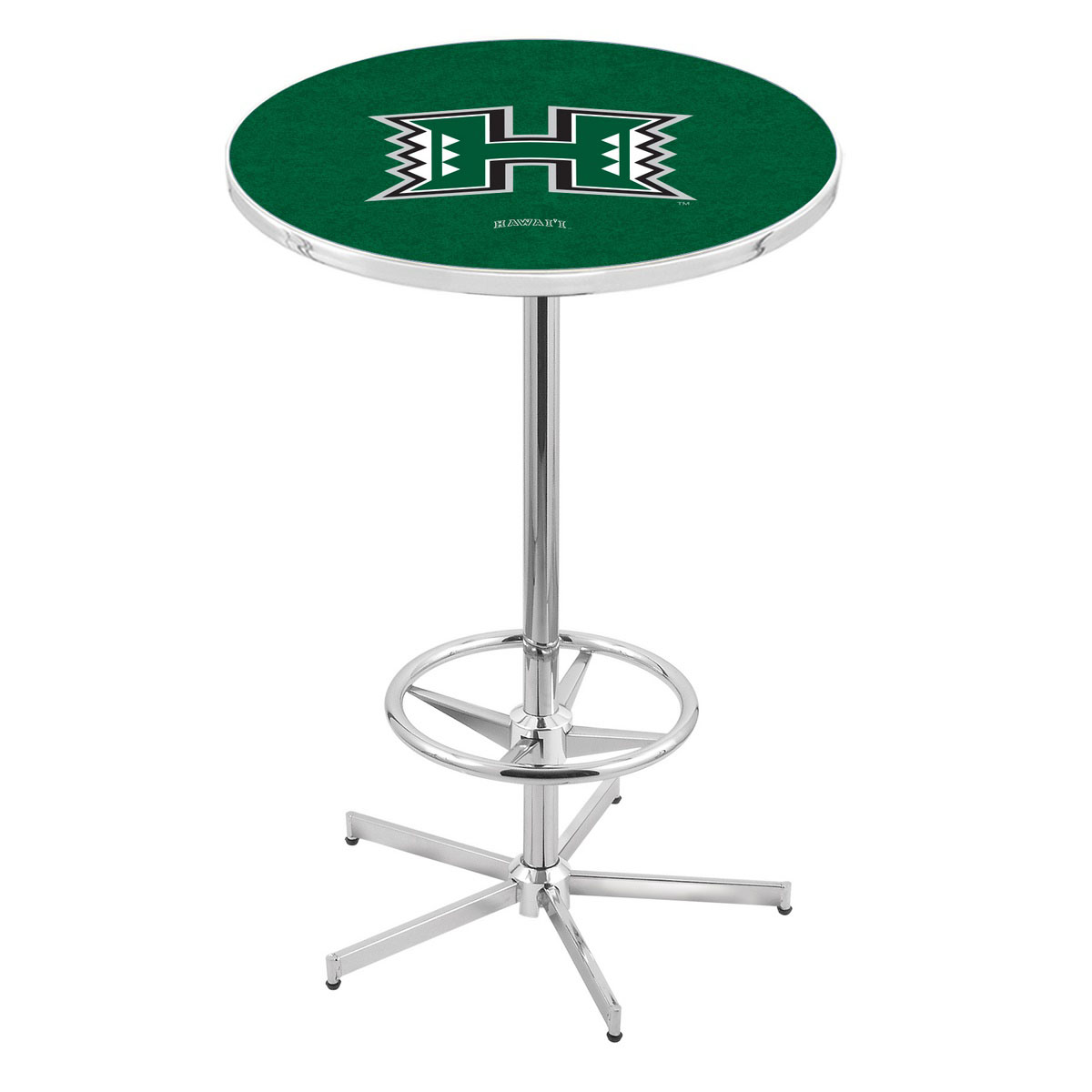 Learn more about Chrome Hawaii Pub Table Product Photo