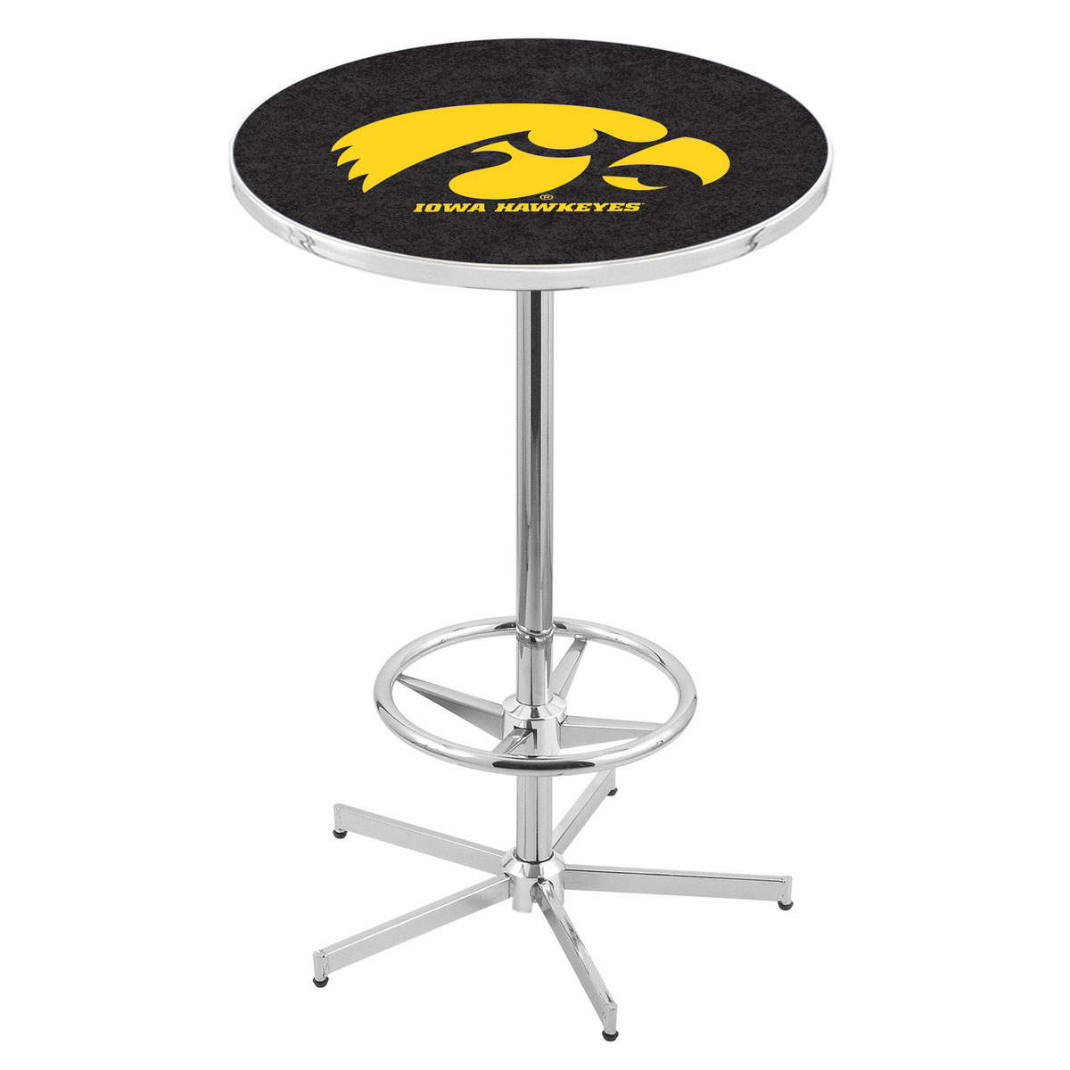 Affordable Chrome Iowa Pub Table Product Photo