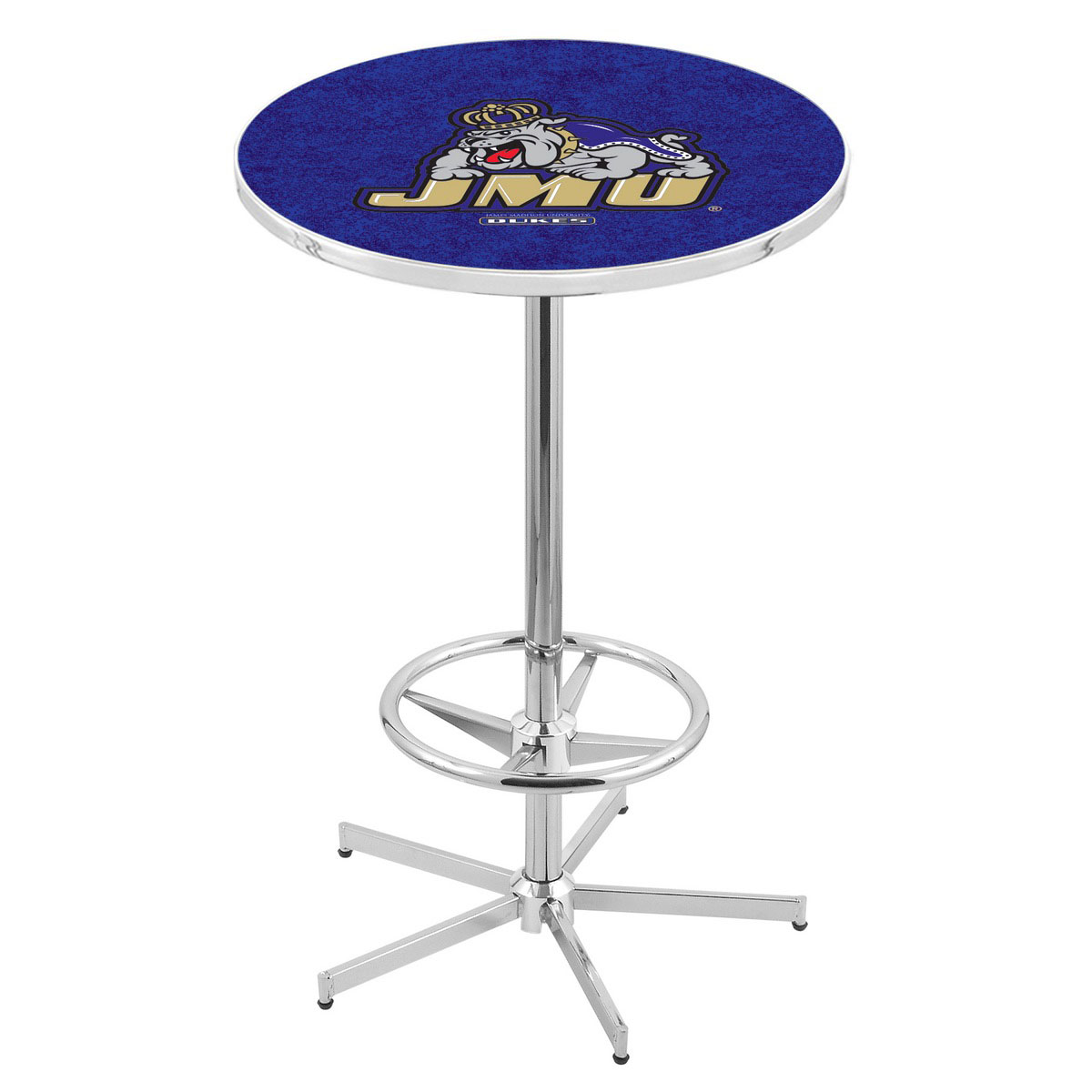 High-class Chrome James Madison Pub Table Product Photo