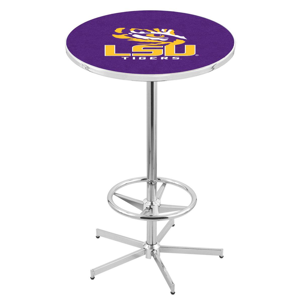 Purchase Chrome Louisiana State Pub Table Product Photo