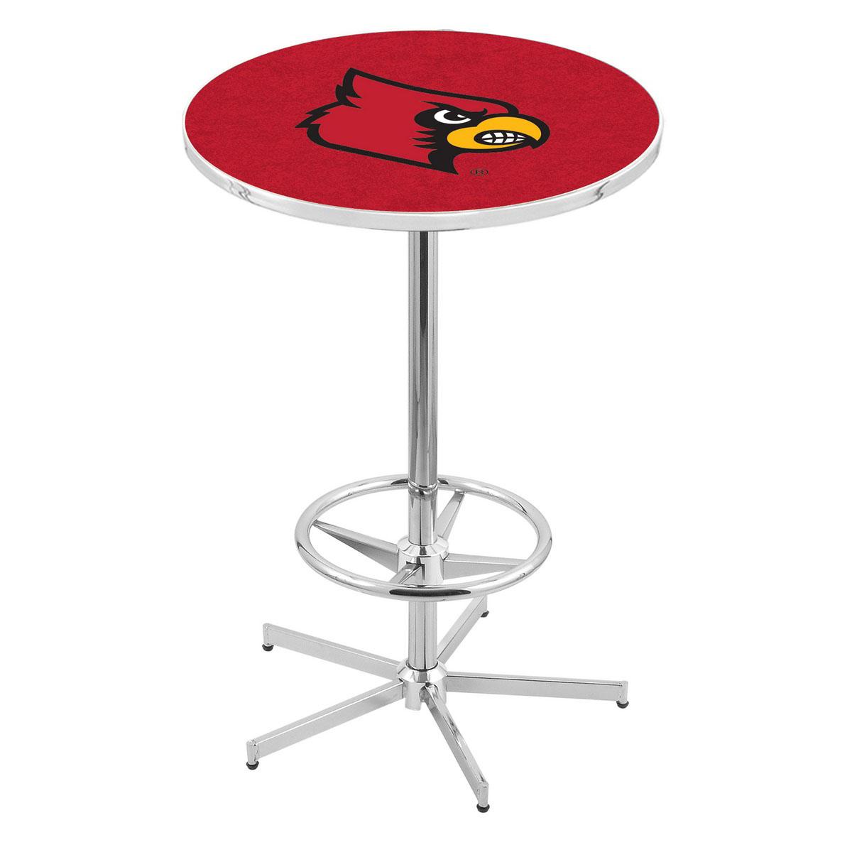 Impressive Chrome Louisville Pub Table Product Photo