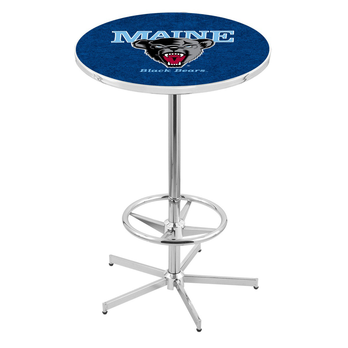 Money saving Chrome Maine Pub Table Product Photo