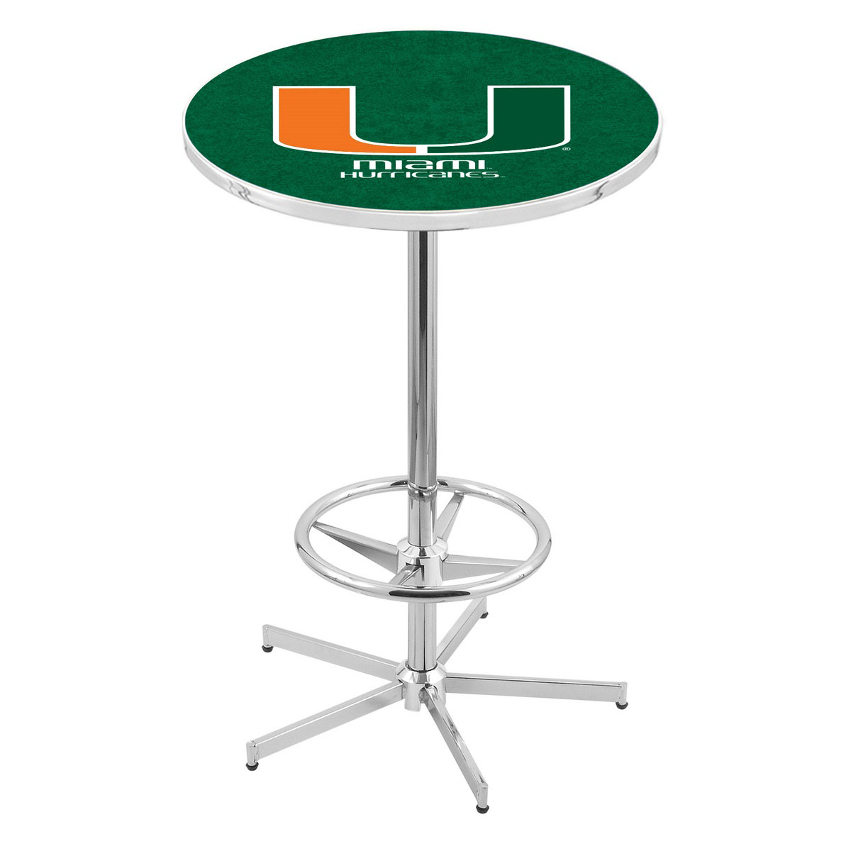 Reliable Chrome Miami Pub Table Product Photo