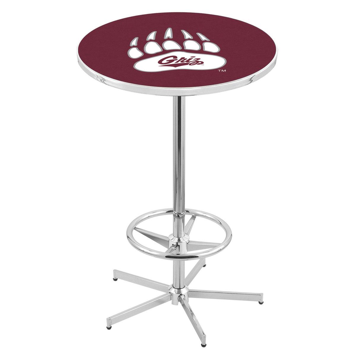 Popular Chrome Montana Pub Table Product Photo