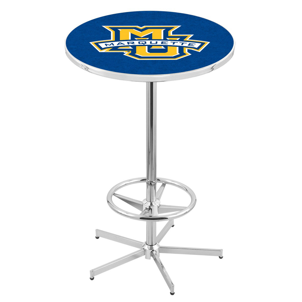 Select Chrome Marquette Pub Table Product Photo