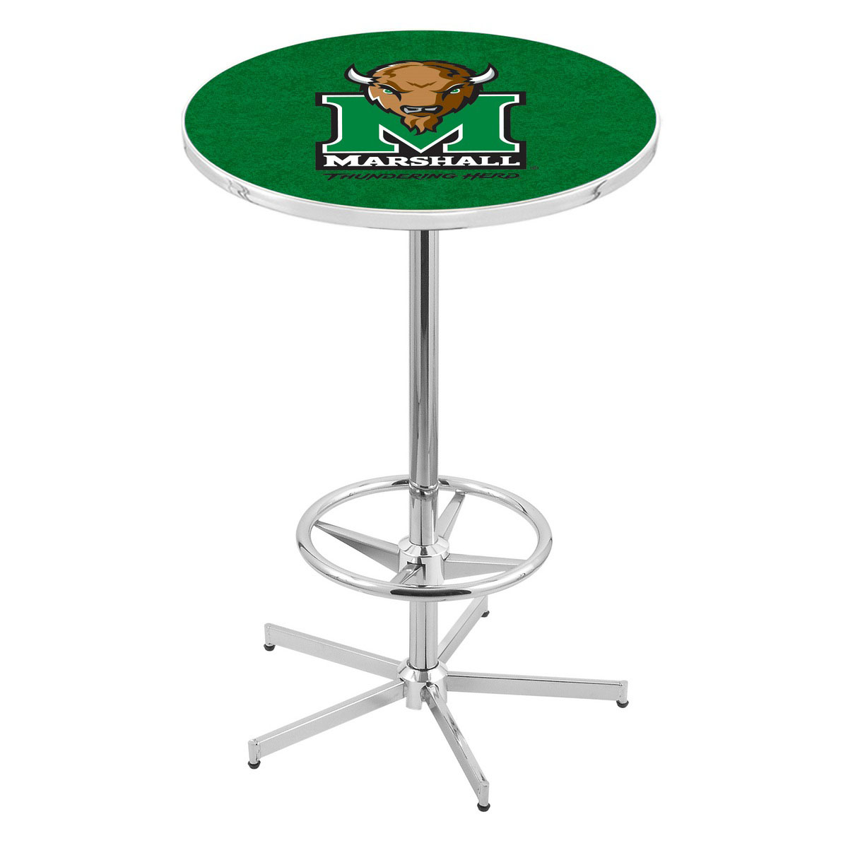 Choose Chrome Marshall Pub Table Product Photo