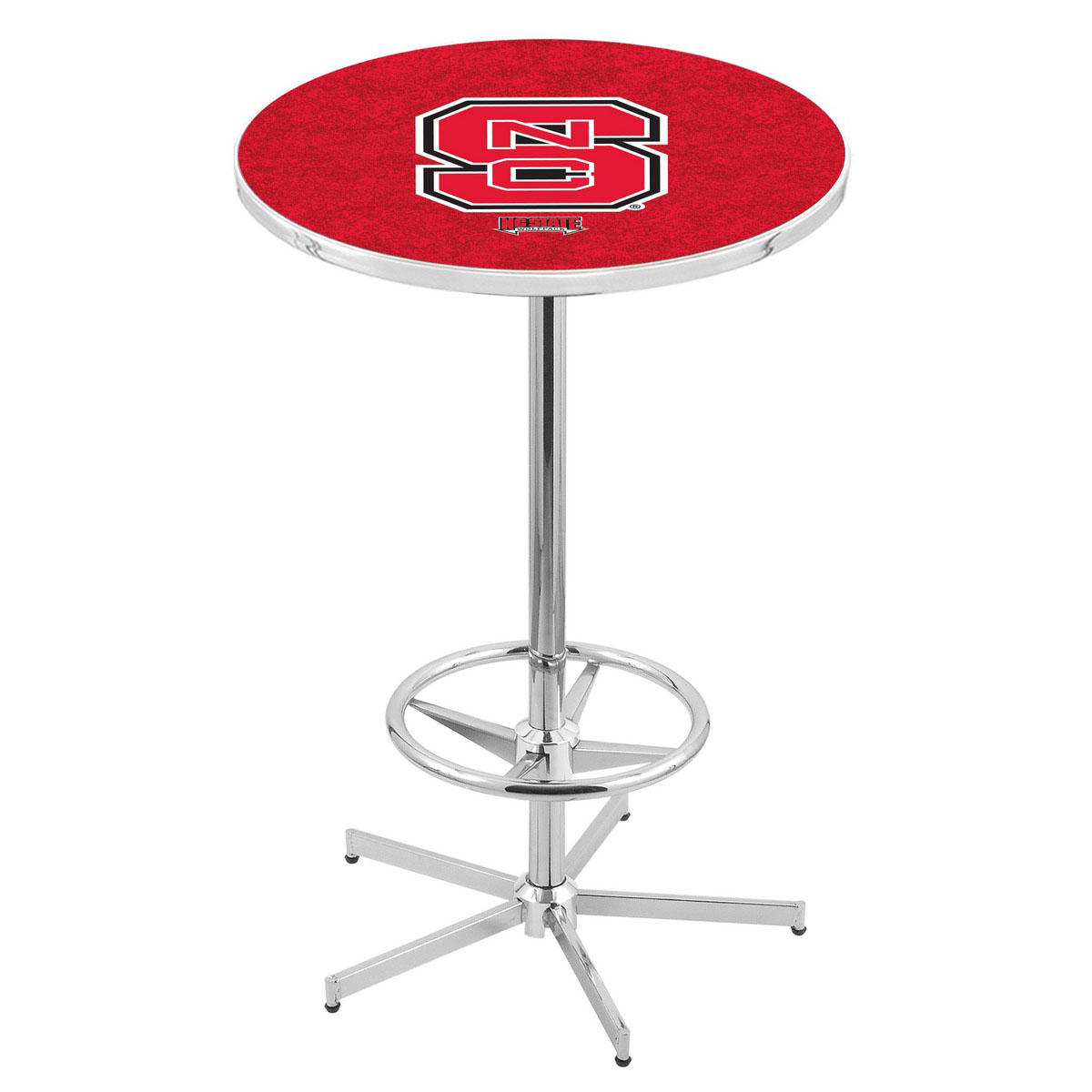 Stunning Chrome North Carolina State Pub Table Product Photo