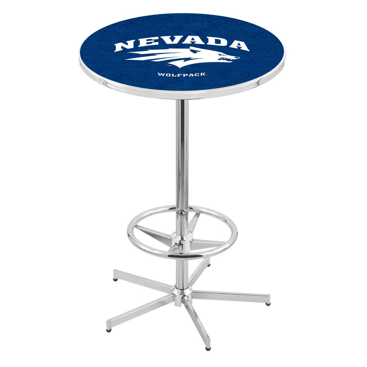 Cheap Chrome Nevada Pub Table Product Photo
