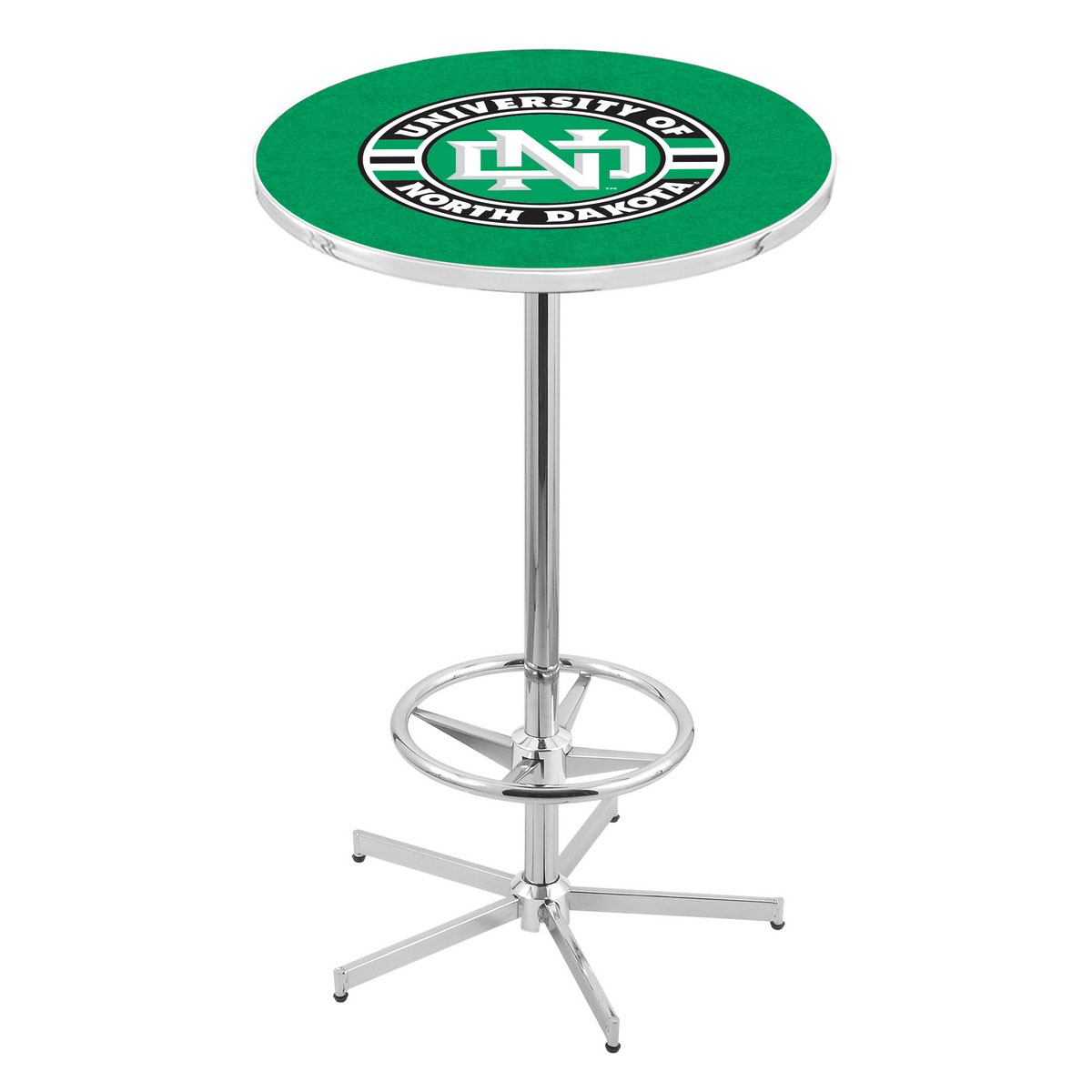 View Chrome North Dakota Pub Table Product Photo